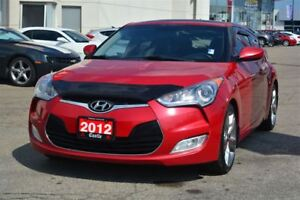 2012 Hyundai Veloster Tech/LEATHER/SUNROOF/BACK UP CAM! FULLY LO