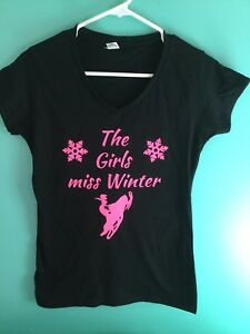 Snowmobile T-shirt Ladies
