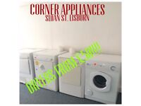 DRYER - VENTED AND CONDENSER WITH WARRANTY