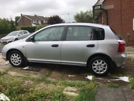 Honda Civic 1.4 petrol 5 door with 33000 miles only