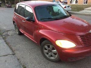 2008 Chrysler PT Cruiser Red Wagon