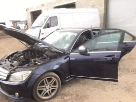 MERCEDES C220 CDI W204 2008 YEAR / SPARE PARTS