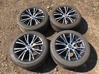 "Oz racing Ford Fiesta / focus 15"" alloy wheels and tyres"