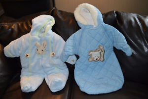 Peter Rabbit snowsuit / Infant Bunting Bag