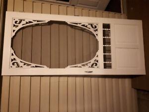 """screen door 34"""" x 80"""" white"""