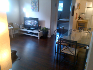 September 1st or Now - 1 bedroom semi furnished - downtown