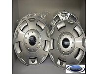 Ford Transit genuine 15 inch wheel trims and 4 steel wheels