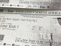 Cricket - England v South Africa, The Oval Sat 29th July