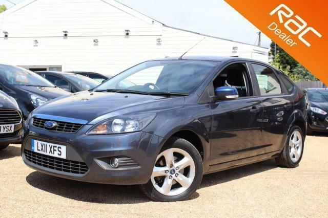 2011 11 FORD FOCUS 1.6 ZETEC 5D 100 BHP - RAC DEALER