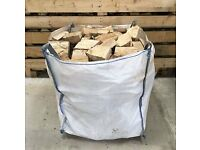 Logs For Sale Wigan - Large Builders Bag Kiln Dried Firewood