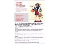 Swishing fundraiser for avenues east 19th aug