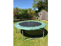 Much loved 8ft trampoline in good condition, looking for a new home