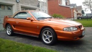 1995 Ford Mustang Convertible. Certfied Florida Car.Zero Rust.