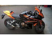 Honda CBR500R 2016 Orange/Black