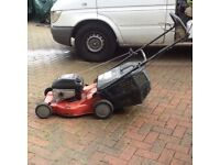 Sovereign self drive lawnmower petrol