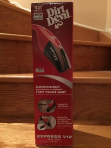 Vacuum Cleaner For Vehicle - Plugs Into Vehicle Outlet - New