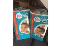 Little Angel Nappies. 29-59lbs. 64 in each pack. Selling both packs together