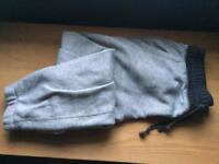 Womens Converse grey fleece bottoms. Size small