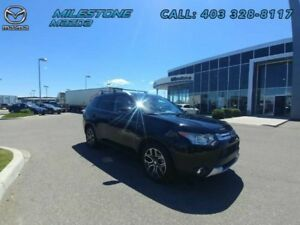 2015 Mitsubishi Outlander GT  Adaptive Cruise, Local Trade, 7 pa