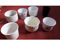 7 Various Plant pots