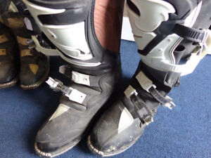 Size 14 men's motocross boots-Thor-recycledgear.ca