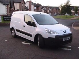 peugeot partner 1.6 hdi 3 seat no vat citroen berlingo