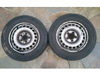 VW T5 Spare Wheel Tyre