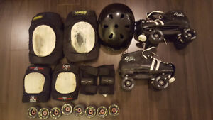 selling roller skates and gear