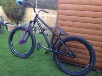 """jump bike 24"""". Rockshox argyle forks mutant frame dmr bmx octane one ns bikes."""