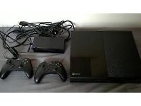 Xbox one console with two controllers + NBA 2k16