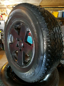 "Jeep Wrangler wheels (set of 5 18"")"