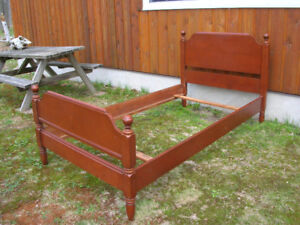 French Provincial Bed Frame
