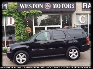2008 Chevrolet Tahoe LEATHER *SUNROOF *FULL POWER GROUP *ACCIDEN