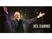 NEIL DIAMOND TICKET X 1 - BIRMINGHAM BARCLAYCARD ARENA - 13TH OCTOBER - £155