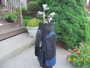 Men's Left Hand 13-pc Golf Clubs Set & Bag