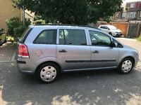 2007 Vauxhall Zafira 1.6 i 16v Life 5dr Low Mileage 7 Seater @07445775115