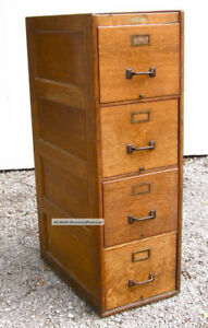 Wanted: Two 3/4 drawer wooden filing cabinets.