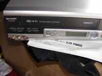 sharp vhs recorder
