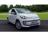 2013 Volkswagen UP 1.0 BlueMotion Tech High Up 5d Manual Petrol Hatchback