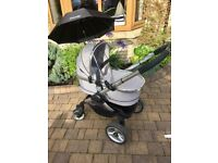 icandy peach 2 with car seat and extras