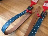 2 x Brand New Cath Kidston dog collars