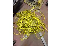 Extension cables. 110v. Allows in working order £offers
