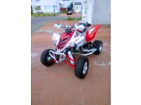 Yamaha Raptor 700r quad bike (Road Legal 08 plate)