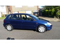 2001 Honda civic, AUTOMATIC, 1.6 Litre, 93000 mileage CLEAN MOT TILL AUGUST 2018, AND NO ADVISORY