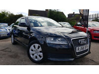 2008 AUDI A3 2.0TDI 3 DOOR 170BHP,LOW MILEAGE,6 SPEED,FACELIFT,VERY GOOD COND.