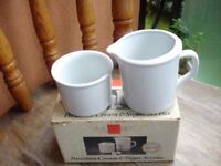 Cream and Sugar Bowls Brand New in Box!