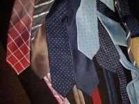 Branded Ties bundle, M&S, George, Austin Reed, John Lewis for sale Bundle of 9 ties (USED)