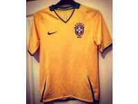 Brazil Football Shirt - Women's - Size 10-12