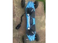 Scrub mountain board with safety line as new