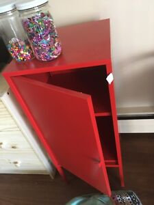 IKEA PS red cabinet